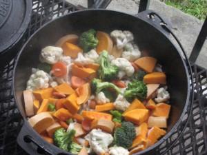 Roast Veggies - Sandpiper style