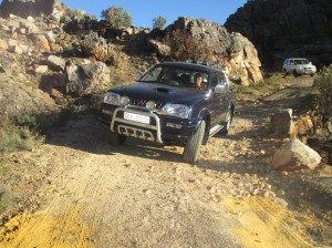 On the 4x4 route between Pakhuis and Heuningvlei